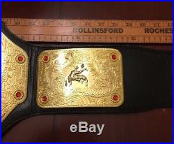 WWE World Heavyweight Championship Adult Replica Belt 2008 Figures Toy Co