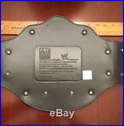 WWE World Heavyweight Championship Adult Replica Belt 2008 Figures Toy Co