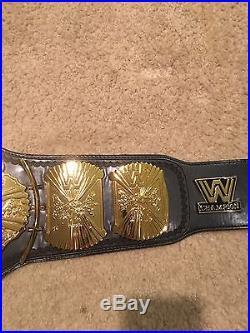 WWE World Heavyweight Championship Adult Replica Belt (WWF Winged Eagle)