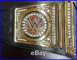 WWE World Heavyweight Championship Belt Metal Replica, Size Adult with Logo Case