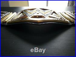 WWE World Heavyweight Championship Belt Real Leather Re-Stoned