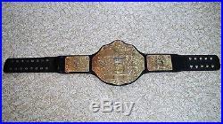 WWE World Heavyweight Championship Big Gold Adult Replica Belt Auto Reigns Style