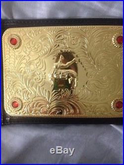 WWE World Heavyweight Championship Big Gold Belt Replica Title Belt Adult-Sized