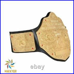 WWE World Heavyweight Championship Big Gold Replica Belt Adult WCW Champion