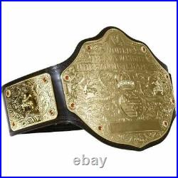 WWE World Heavyweight Championship Big gold Wrestling Replica Belt Size 2mm