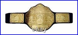 WWE World Heavyweight Championship Big gold Wrestling Replica Belt Size 2mm WCW