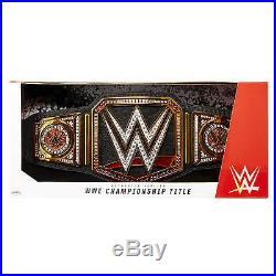 WWE World Heavyweight Championship Collectible Title Belt WWF Strap Champion