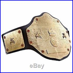 WWE World Heavyweight Championship Kids Replica Title Belt With Metal Plates