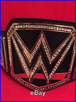 WWE World Heavyweight Championship Replica Belt Commemorative BRAND NEW WITH BOX