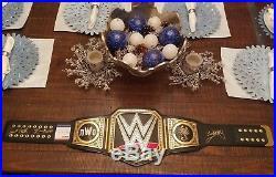WWE World Heavyweight Championship Replica Belt, NWO, Sting, Nash, Hall