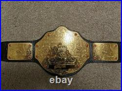 WWE World Heavyweight Championship Replica Belt On Real Leather