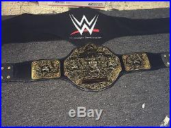 WWE World Heavyweight Championship Replica Title Belt Commemorative With Bag Wcw