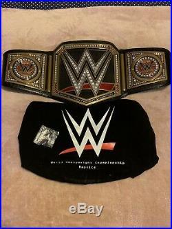 WWE World Heavyweight Championship Replica Title Belt FULL Sized Adult Belt XMAS