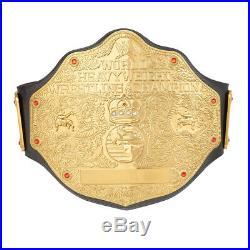 WWE World Heavyweight Championship Replica Title Leather Belt 4mm Zinc Alloy WWF