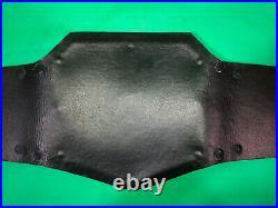 WWE World Heavyweight Championship Title Belt Adult Replica Leather Metal Raw Tv