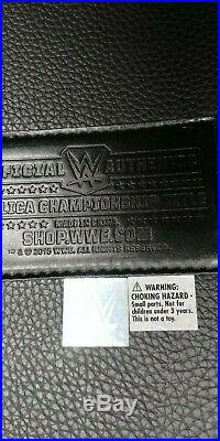 WWE World Heavyweight Championship Title Belt metal plates Replica belt