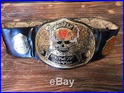 WWE World Heavyweight Smoking Skull Replica Championship Belt Kids Size