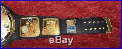 WWE World Heavyweight WWF Big Eagle Championship Leathers Belt
