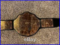 WWE World Heavyweight Wrestling Championship Belt Adult Size With Red Back Metal