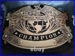WWE World Wrestling Championship Belt Adult Replica Figures Toy Co. Authentic