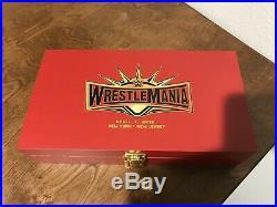 WWE Wrestlemania 35 Belt Side Plates Wrestling Replica WWF Wcw Ecw Championship