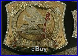 WWE Wrestling Championship Spinner Replica Title Leather Belt Metal
