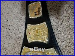 WWE championship belt adult replica SIGNED Cena Edge