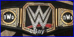 WWE championship replica belt with nWo plates