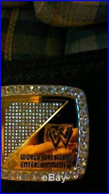 WWE championship spinner replica belt