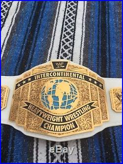 WWE intercontinental championship American Hand Made Belt WWF Real