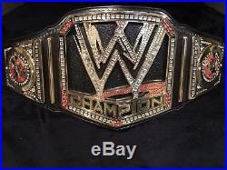 WWE sctratch Logo V2 world championship wrestling belt On LUKKY leather