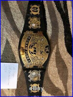 WWE undisputed Version 2 Championship Belt Adult Size