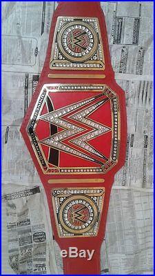 WWE world Heavyweight Championship Replica Leathers Belt