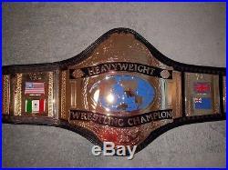 WWF 1986 Hulk Hogan Adult Championship Title Belt RARE WWE