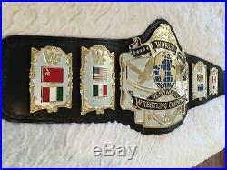 WWF Andre 87 Championship Wrestling Belt WWE WCW ECW NXT AEW TNA