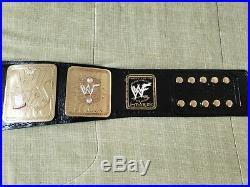 WWF Attitude Era Championship Replica Belt WWE WCW ECW TNA ROH NJPW AWA NWA
