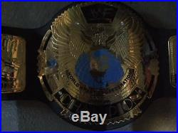 Wwf Big Eagle Replica Championship Title Belt Attitude Metal Leather Adult Wwe