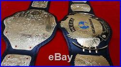 WWF BIG GOLD and WWF WINGED EAGLE Wrestling Championship Title Belt Adult Size