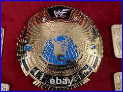 WWF Big Eagle Championship Belt Plates (WWF WWE WCW ECW NWA TNA AEW)
