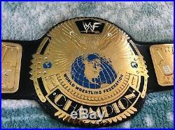 WWF Big Eagle Championship Wrestling Belt WWE WCW ECW AEW TNA NXT Attitude Era