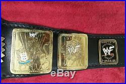 WWF Big Eagle World Wrestling Championship Replica Belt Metal Plated Adult Size