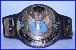 WWF Championship Belt Attitude Era Authentic Replica WWE Wrestling Eagle Leather