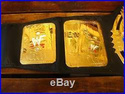 WWF Championship Winged Eagle Belt World Wrestling Federation Licensed