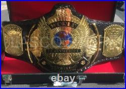 WWF Classic Gold Winged Eagle World Wrestling Heavyweight Champion Title Belt