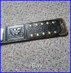 WWF Hogan 85 World Championship title belt. WWE WCW TNA ECW NWA