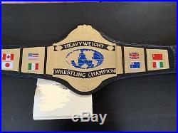 WWF Hogan 86 Replica Championship Belt WWE WCW Hulk Hogan Title