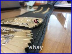 WWF Hybrid Championship 4MM Winged Eagle And Big Eagle Attitude Era Brass Belt