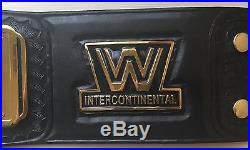 WWF Intercontinental Championship Belt WWE ROH WCW TNA REAL LEATHER