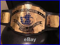 WWF Intercontinental Championship Replica Deluxe Title Belt WWE WCW ROH