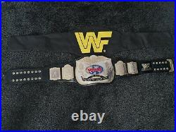 WWF Logo Classic Tag Team Championship Replica Belt Adult Figs Inc Official WWE